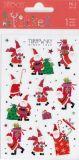 BSB Weihnachtsmänner mit Goldprägung Xmas Turnowsky Sticker