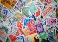 DANACARDS Stamps 1 / Briefmarken Postkarte