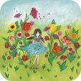 TAURUS-KUNSTKARTEN Follow your heart / Mädchen mit Herz - Mila Postkarte