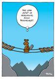 MT Irgendwie auch bescheuert / Biber- Ralph Ruthe Postkarte