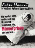 GOLDBEK Männergrippe Hangover Postkarte