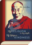 TAURUS-KUNSTKARTEN My religion is very simple - kindness / Dalai Lama - BookCard Postkarte