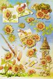 HobbyFun Sonnenblumen I 3D CREApop Sticker