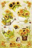 HobbyFun Sonnenblumen II 3D CREApop Sticker