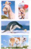 BSB Avanti Hund + Pferd + Pinguin Sticker