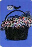 CARTES DART Floral Mail Postkarte