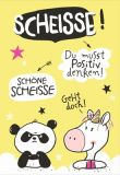 HOPE & GLORIA Schöne Scheisse Postkarte