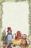 DONNA JENSEN Grannys Christmas Cats Schreibblock