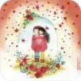 TAURUS-KUNSTKARTEN Pul-lover / 100 % love - Mila Postkarte