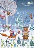GOLLONG Tiere im Winterwald - Mila Marquis Postkarte