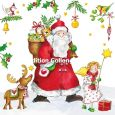 GOLLONG Süßer Nikolaus mit Engel - Carola Pabst Postkarte