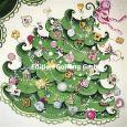 GOLLONG Weihnachtsbaum - Sabrina Comizzi Postkarte