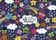 LALI Wer ist der Star unter den Sternen? Postkarte