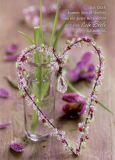 GWBI Gutes Herz + Liebe Seele - Herzenswünsche Postkarte