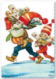 ARTELIUS Geschenkelieferung - Zwerg Postkarte