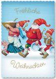 ARTELIUS Festtagsschmaus - Zwerg Postkarte
