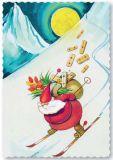 ARTELIUS Skiabfahrt - Zwerg Postkarte
