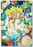 ARTELIUS Sternensinger - Zwerg Postkarte