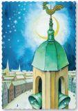 ARTELIUS Kirchturm - Zwerg Postkarte