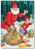 ARTELIUS Anhalter - Zwerg Postkarte