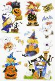 HobbyFun Halloween II 3D CREApop Sticker