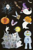 HobbyFun Halloween I 3D glitter CREApop Stickers