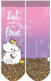 PUMMELEINHORN Eat what you love Socken - Größe 35-38