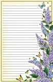 DONNA JENSEN Lilacs note pad