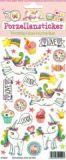 SAFURI unicorn porcelain stickers