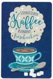 GOLDBEK Sternzeichen: Kaffee / Aszendent: Käsekuchen Hello Friends postcard