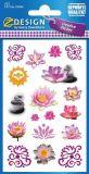 Z-Design lotus stickers