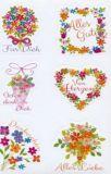 AVANsticker Blumen mit Sprüchen Sticker