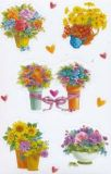 AVANsticker flower vases stickers