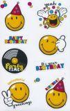 AVANsticker Smiley birthday stickers
