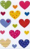 AVANsticker Bunte Herzen Sticker