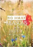 KATJA DIECKMANN There are so many reasons to be happy - Zauberwerke Postkarte