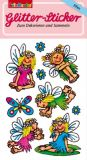LUTZ MAUDER fairies glitter stickers