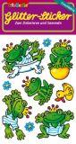 LUTZ MAUDER frog king glitter stickers