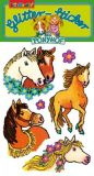 LUTZ MAUDER Mein Ponyhof Glitter Sticker