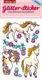 LUTZ MAUDER unicorns glitter stickers