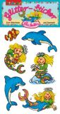 LUTZ MAUDER mermaid Sina Seastar glitter stickers