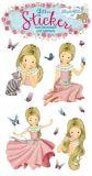 LUTZ MAUDER princess Floralie with glitter stickers