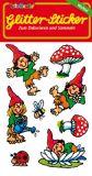 LUTZ MAUDER gnome Tommi Tupfel glitter stickers