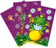 LUTZ MAUDER frog king lenticular postcard