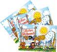 LUTZ MAUDER birthday horse lenticular postcard