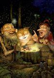 LOVELYCARDS fairy tale / cat Alexander Maskaev postcard