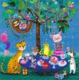 GOLLONG birthday animals - Mila Marquis postcard