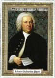 TAUSENDSCHÖN Johann Sebastian Bach postcard