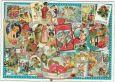 TAUSENDSCHÖN Valentinsgrüße / Briefmarken + Bilder Postkarte