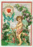 TAUSENDSCHÖN Valentinsgrüße Valentine Greetings To my love Postkarte